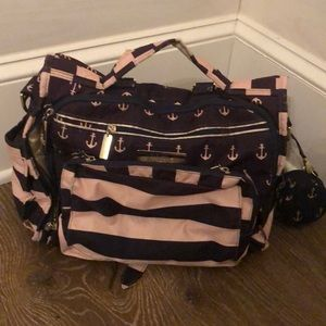 Jujube commodore bff diaper bag and paci pod
